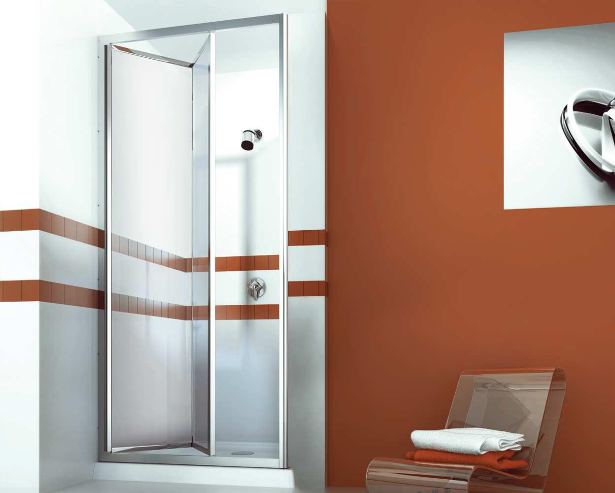 shawer mamparas para bao puerta de ducha plegadiza ultra con pao fijo a
